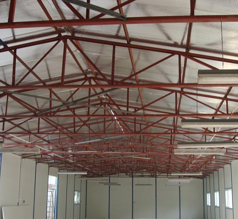 Q235B钢结构 铁棚厂房设计 钢结构工程专业制作 网架设计