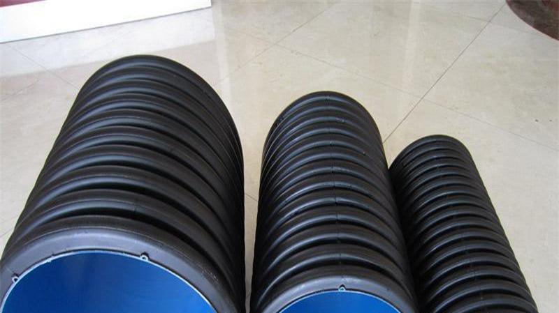 直销 hdpe双壁波纹管 民用塑料排水管 通信电缆护套管