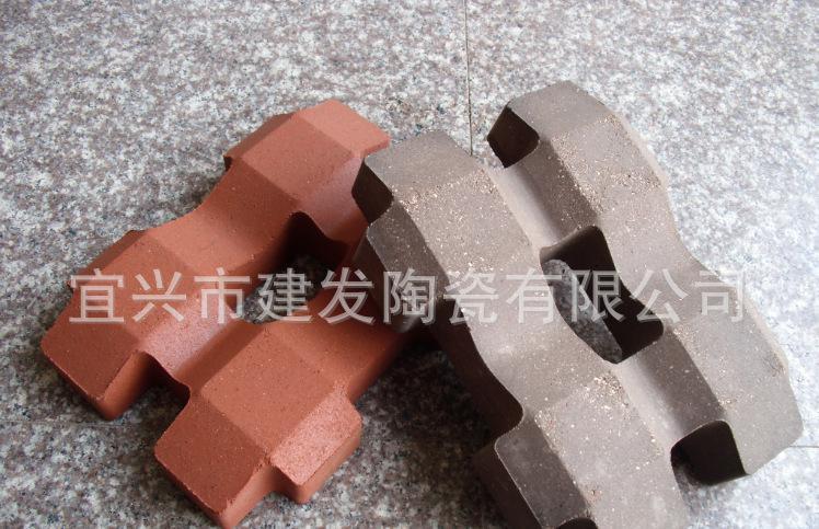直销陶土烧结砖 植草砖 草坪砖 井字 停车场专用砖 广场砖