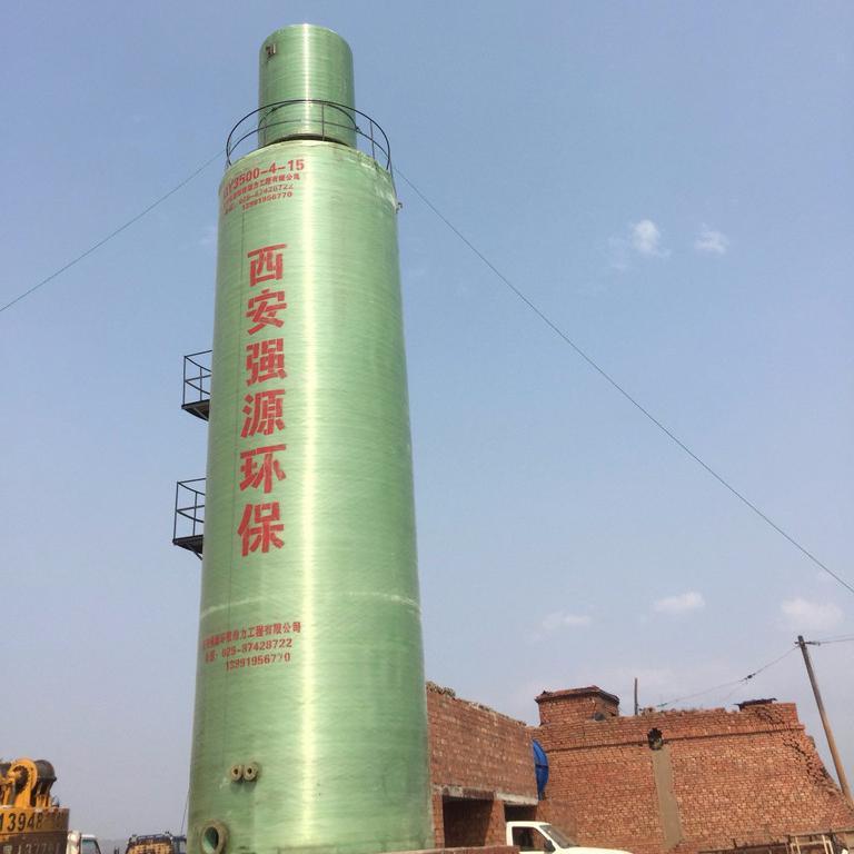 强源脱硫 脱硫塔 玻璃钢脱硫塔 专业脱硫工艺设计