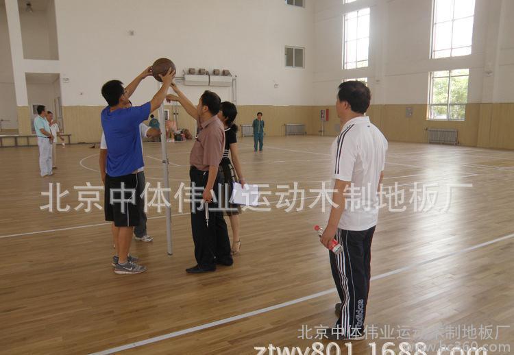 中体伟业20*60*1800运动木地板:羽毛球馆专用木地板